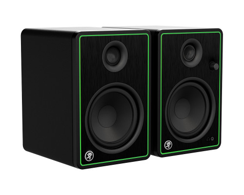 "Mackie CR5-X Pair of 5"" Reference Multimedia Monitors Front Side"