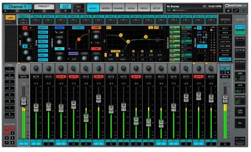 Waves eMotion LV1 64 D 64 Channel Live Mixer