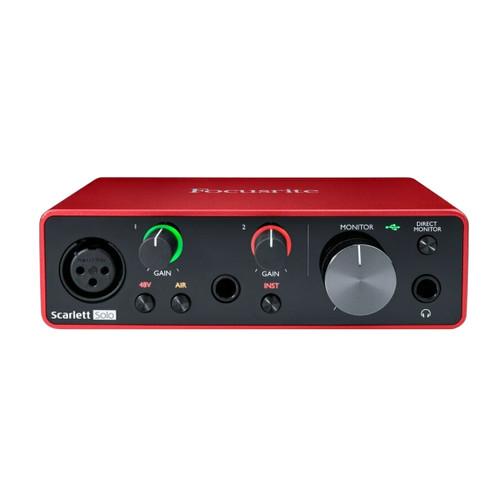 Focusrite Scarlett Solo 3rd Gen USB Audio Interface