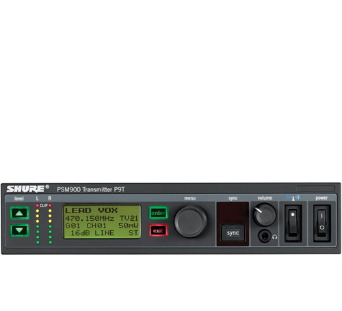 Shure P9T Wireless Transmitter