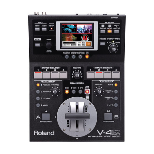 Roland V-4EX 4-channel Digital Video Mixer with Effects