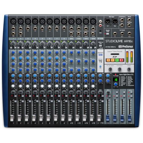 PreSonus StudioLive AR16c 16-Channel  Analog Mixer