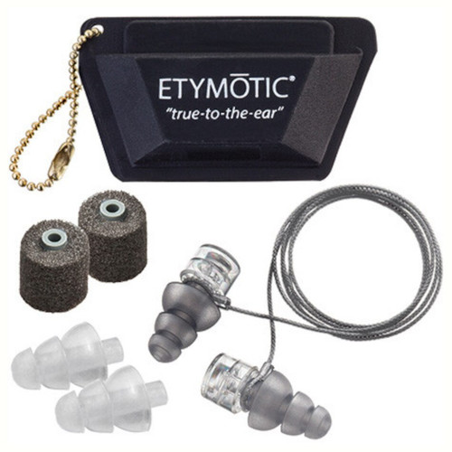 Etymotic ER20XS Universal Fit High-Fidelity Ear Plugs, Polybag Packaging