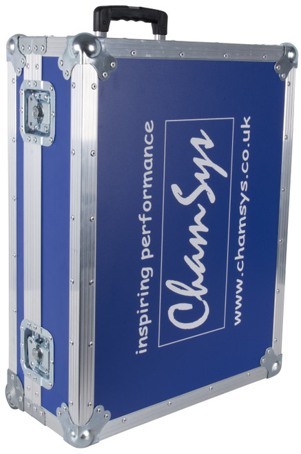 ChamSys Flight Case For MagicQ MQ80 Blue With Wheels
