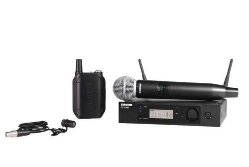 Shure GLXD124R/85 Combo Wireless System