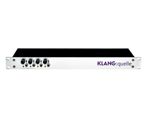 """KLANG:technologies KLANG:quelle 19"""" Dante Breakout Box and Headphone Amp"""