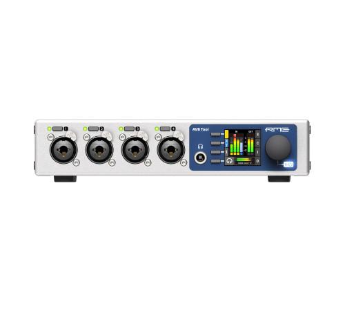 RME AVB Tool Half-rack MADI-AVB Converter