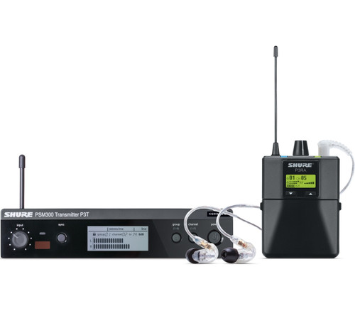 Shure P3TRA215CL In-Ear Monitoring Set