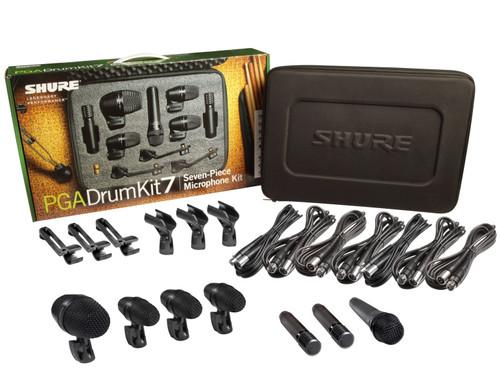 Shure PGADRUMKIT7 Drum Microphone Kit