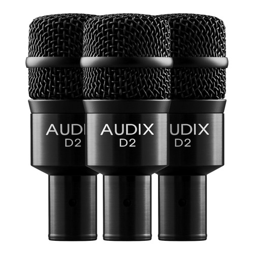Audix D2 Trio Drum Microphone Package