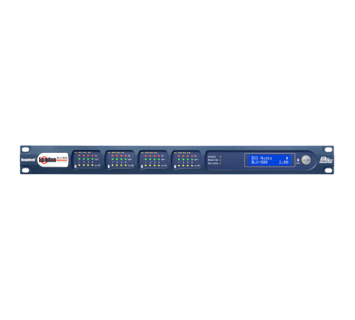 BSS BLU-800 Signal Processor with BLU link and CobraNet