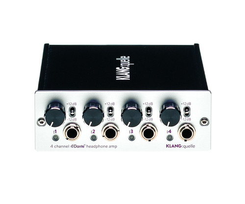 KLANG:technologies KLANG:quelle 4 Channel Dante Network Headphone Amp