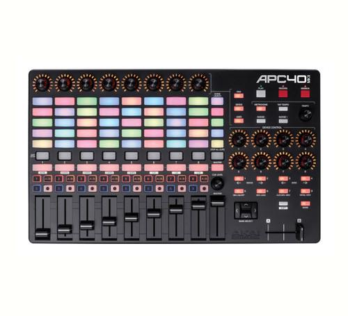 Akai APC40 mkII Ableton Live Performance Controller top