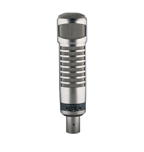 Electro-Voice RE27N/D Broadcast Announcer Microphone