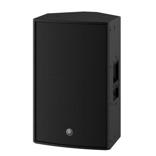 "Yamaha DZR12-D 12"" 2-Way Powered Dante Speaker, Black"
