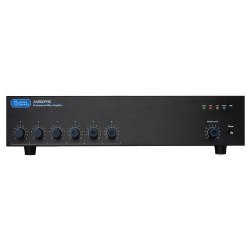 AtlasIED AA200PHD 6-Input, 200-Watt Mixer Amplifier