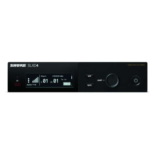 Shure SLXD4 Digital Wireless Receiver