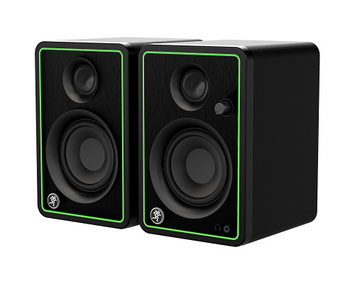 """Mackie CR3-X Pair of 3"""" Reference Multimedia Monitors front side"""
