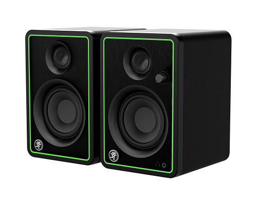 """Mackie CR3-XBT Pair of 3"""" Reference Multimedia Monitors with Bluetooth Front Side"""