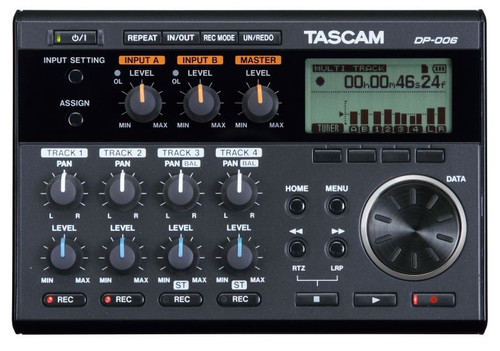 Tascam DP-006 6 Track Digital Pocketstudio