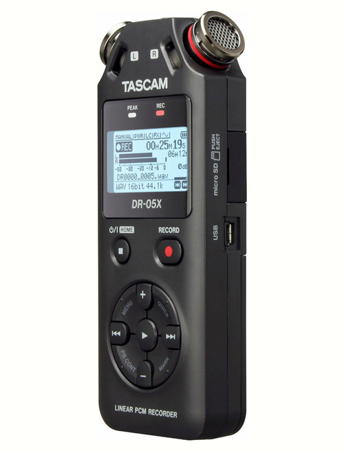 Tascam DR-05X Stereo Handheld Digital Audio Recorder and USB Interface