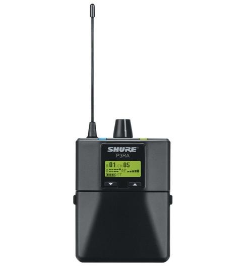 Shure P3RA Wireless Bodypack Receiver
