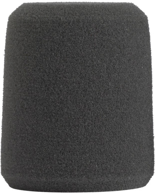 Shure A1WS Foam Microphone Windscreen, Gray