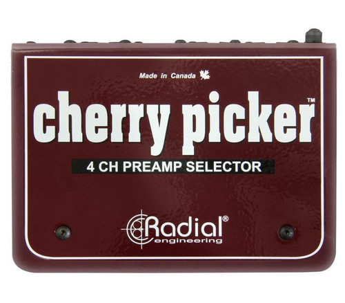 Radial Cherry Picker 4 Channel Preamp Selector