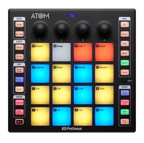 PreSonus ATOM 16-Pad USB MIDI Controller