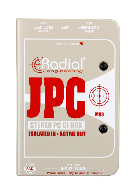 Radial JPC Computer Direct Box