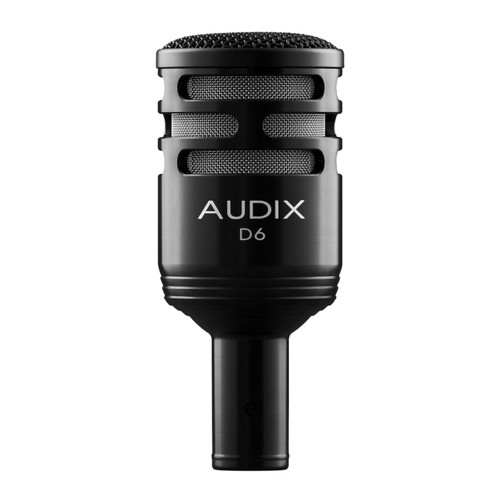 Audix D6 Dynamic Instrument Microphone Closeup
