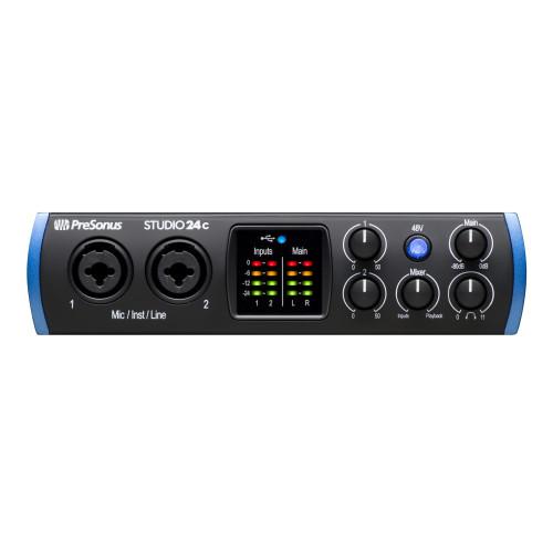 PreSonus Studio 24c 2X2 USB-C Audio Interface