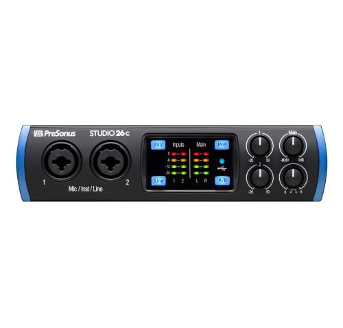 PreSonus Studio 26c 2X4 USB-C Audio Interface