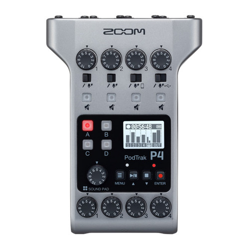 Zoom PodTrak P4 Podcast Recorder