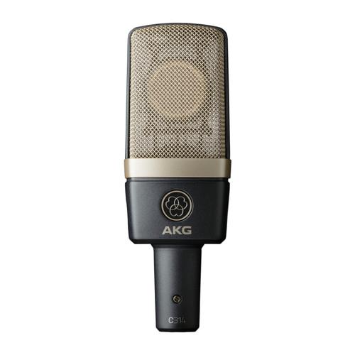AKG C314 Multi-Pattern Large Diaphragm Condenser Microphone
