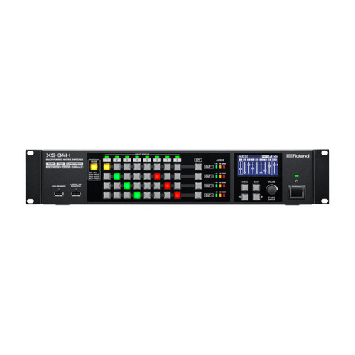 Roland XS-84H 8-in x 4-out Multi-Format AV Matrix Switcher