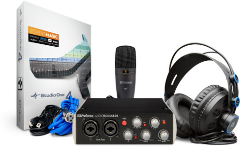 PreSonus AudioBox 96 Studio, Black