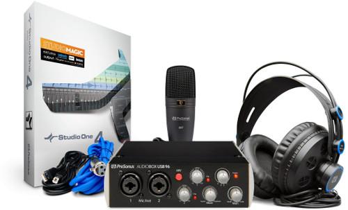 PreSonus AudioBox 96 Studio, Black