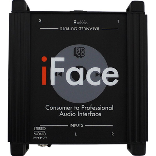 ProCo iFace Portable Audio Player Interface