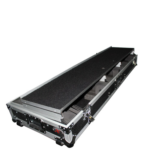 ProX XS-TMC1012WLTFBTL FITS 2 TURNTABLES IN BATTLE MODE WITH LAPTOP SHELF