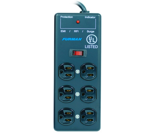 Furman SS-6B 6-outlet Pro Surge Suppressor Strip