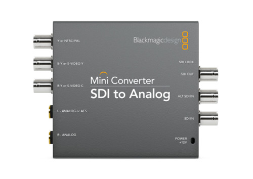 Blackmagic Design Mini Converter SDI to Analog front
