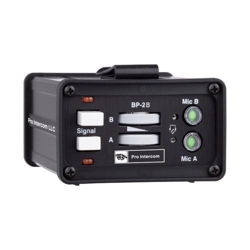 Pro Intercom BP2B Portable Headset Station Beltpack