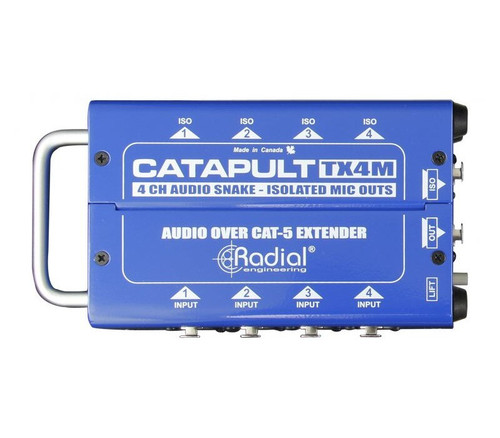 Radial Catapult TX4M 4 Channel Audio Snake