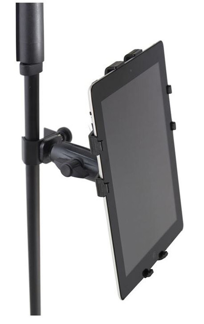 Gator GFW-UTL-TBLTCLMP iPad Tablet Tray w/ Adjustable Clamp Mount