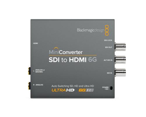 Blackmagic Design Mini Converter SDI to HDMI 6G front