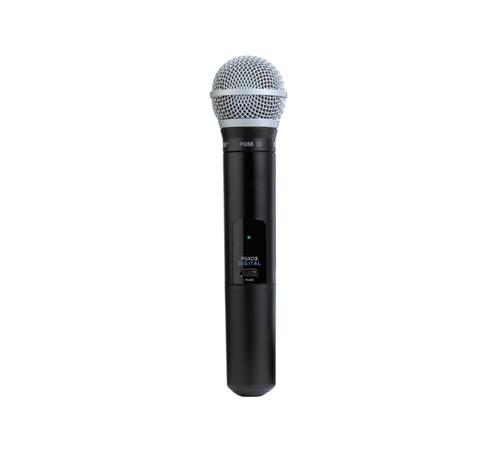 Shure PGXD2/PG58 Handheld Wireless Microphone Transmitter
