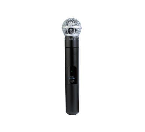 Shure PGXD2/SM58 Handheld Wireless Microphone Transmitter