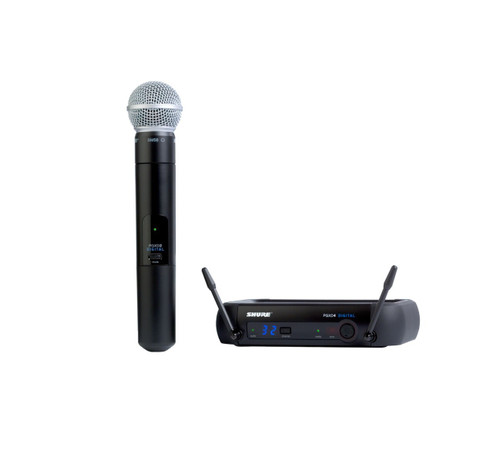 Shure PGXD24/SM58 Handheld Wireless System with Handheld Wireless Microphone