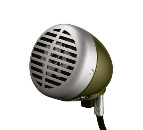 Shure 520DX Green Bullet Harmonica Microphone
